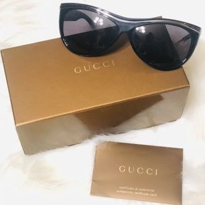 Authentic GUCCI women sunglasses